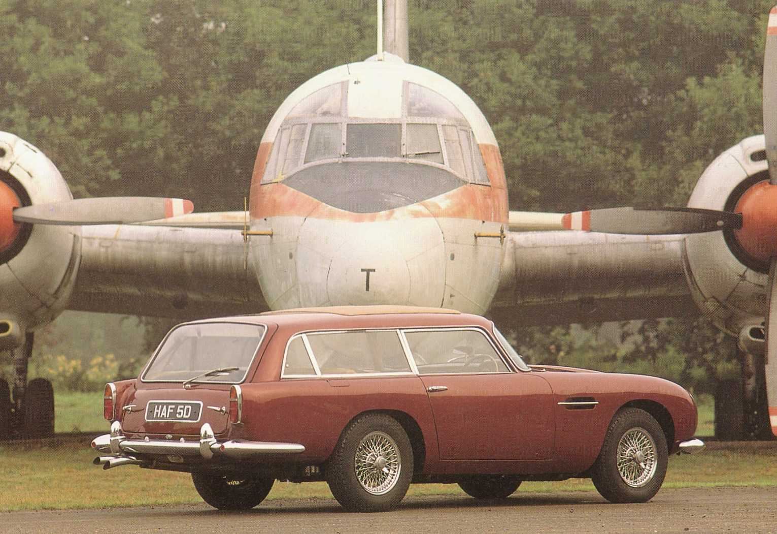 aston martin scrapbook - db6 shooting brakes